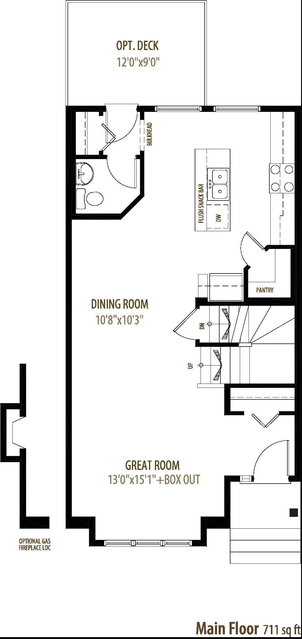 1205 Watt Drive SW Floorplan