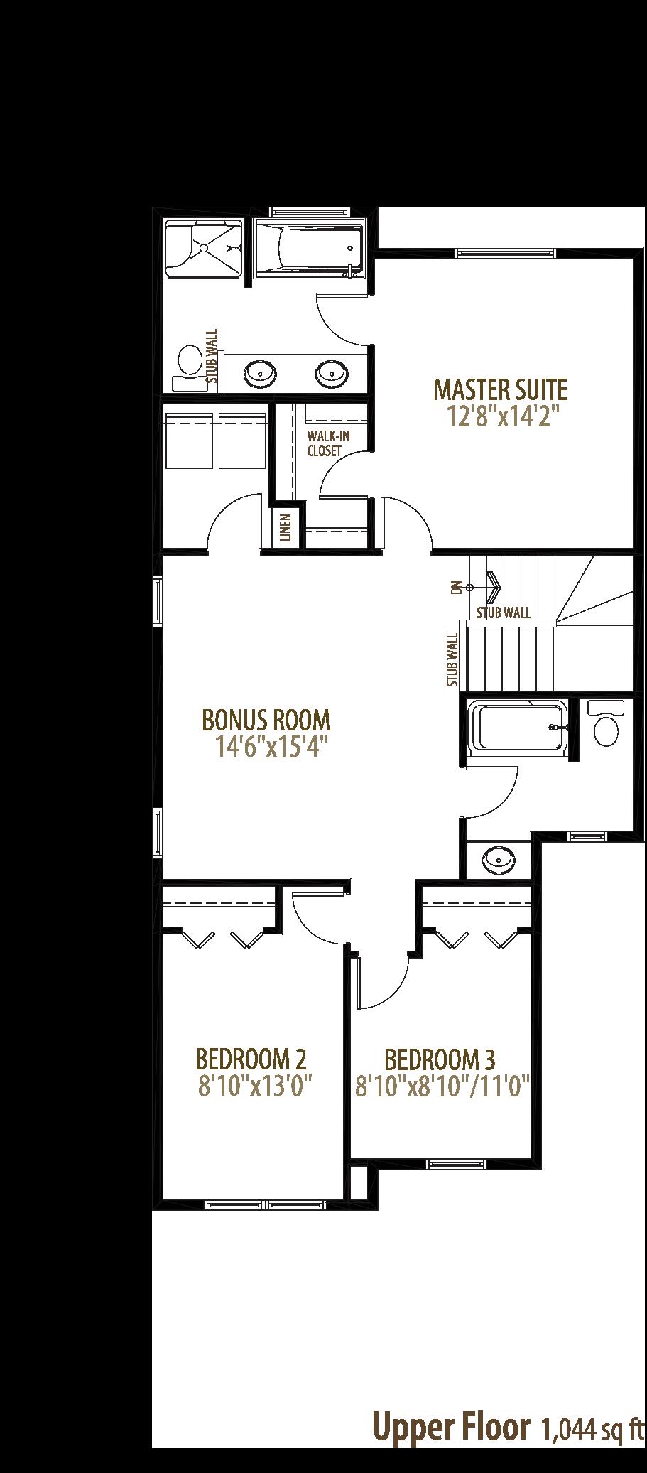 17215 64 Street NW Floorplan