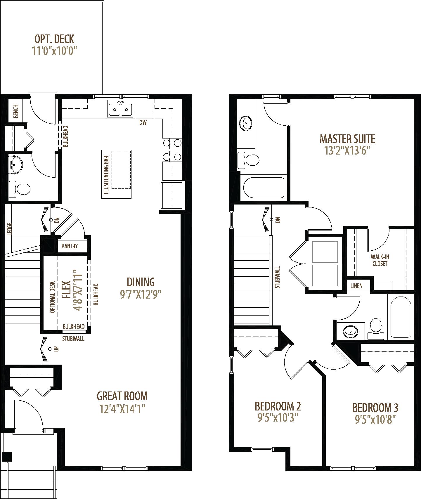 204 Dawson Drive Floorplan