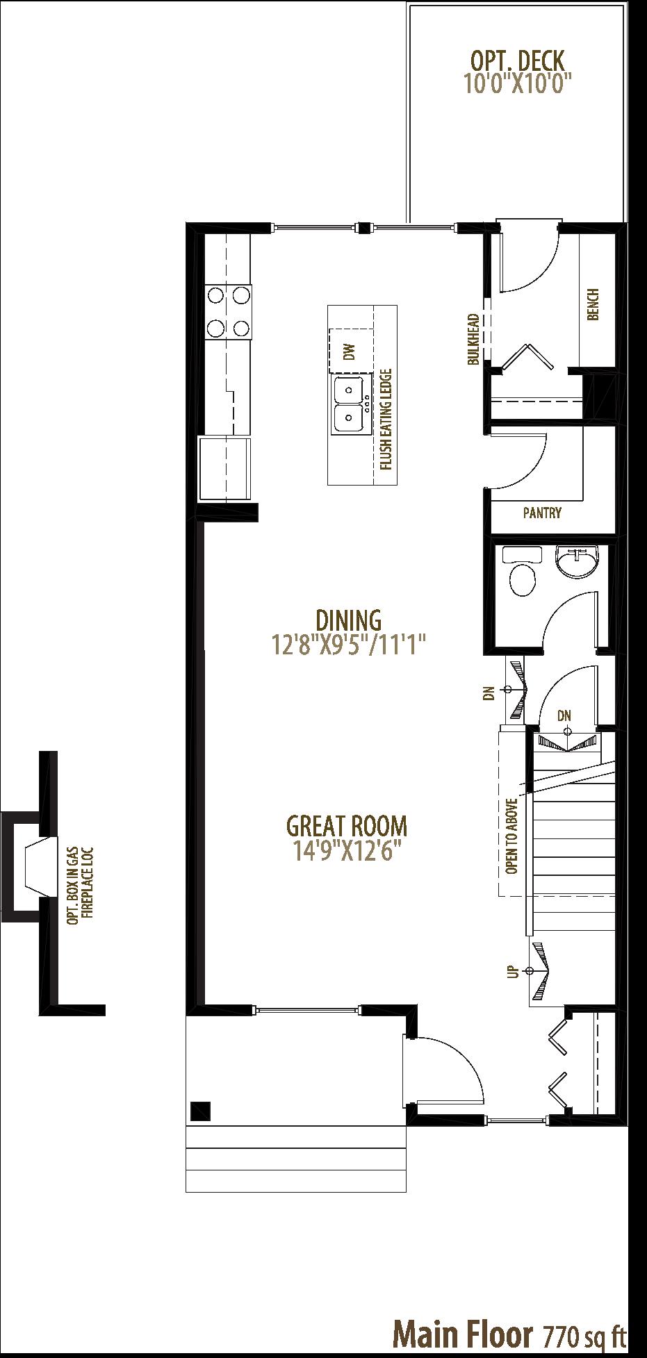 2136 159 street SW Floorplan
