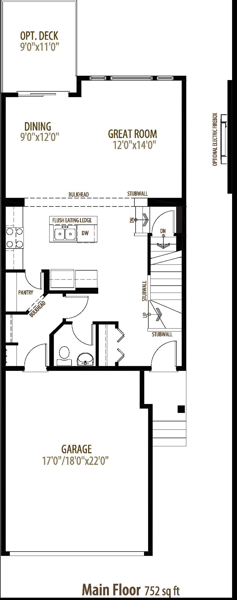 22027 80 Ave NW Floorplan
