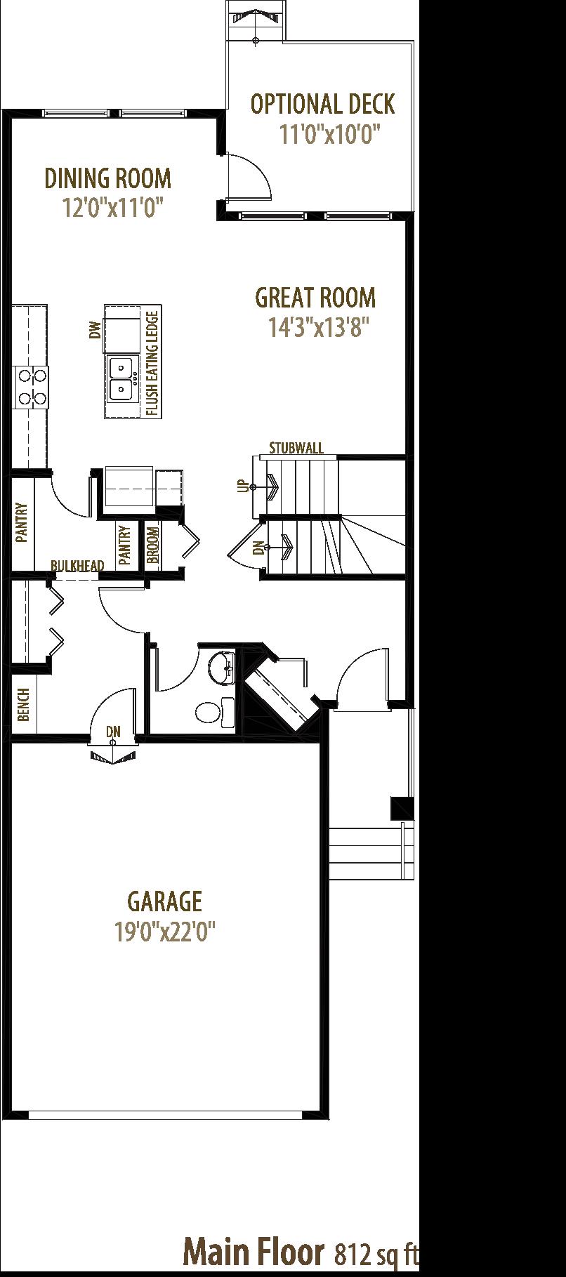 5214 23 Ave SW Floorplan