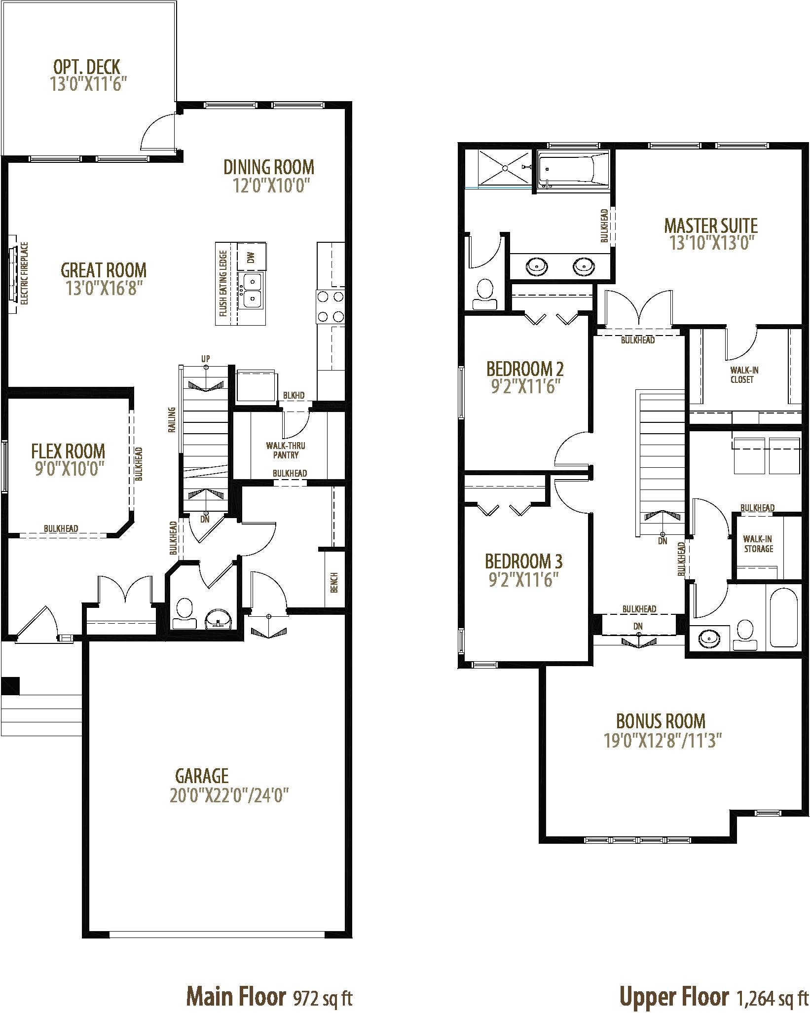 62 Creekside Avenue SW Floorplan
