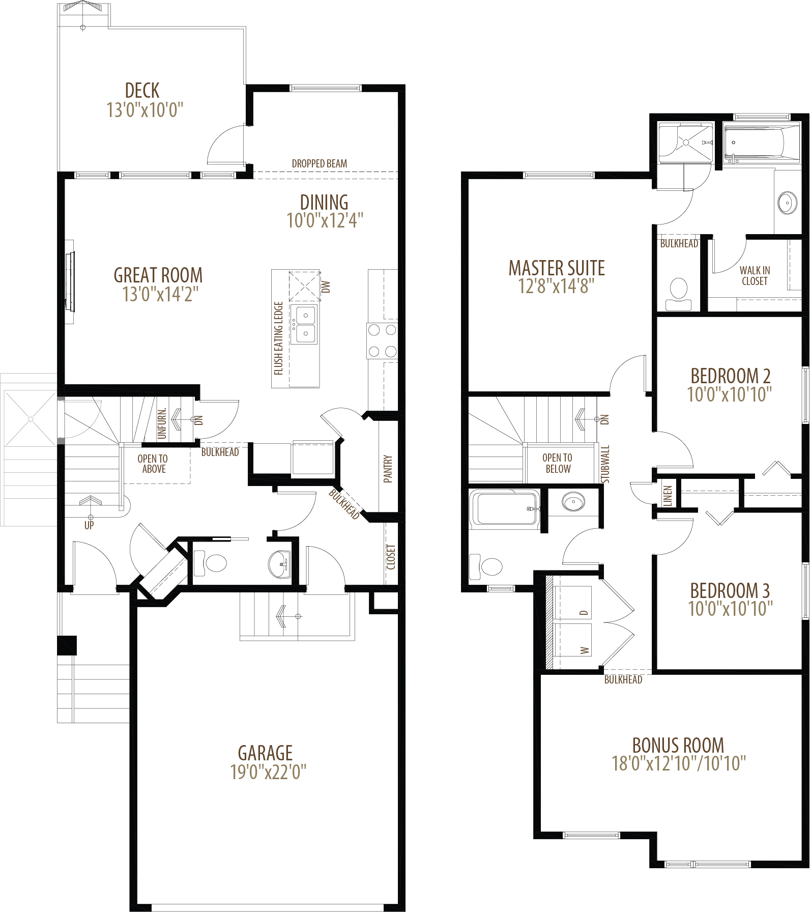 78 Corner Meadows Row NE Floorplan