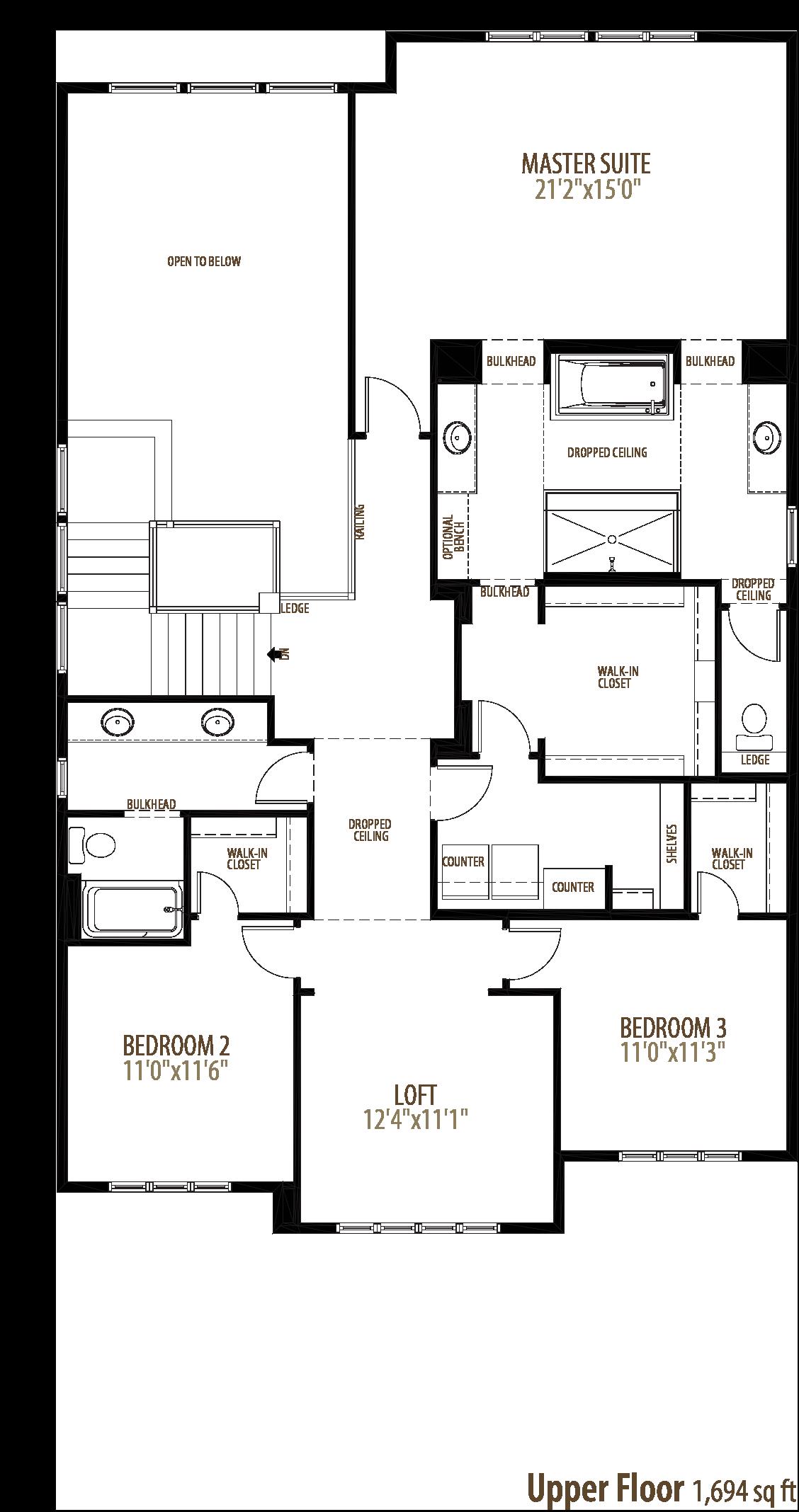 Aria Floorplan