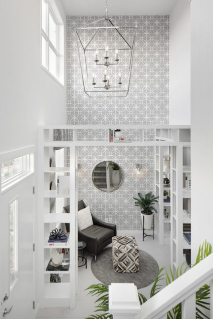 104 entryway stairs den