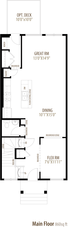 Brooklyn Floorplan