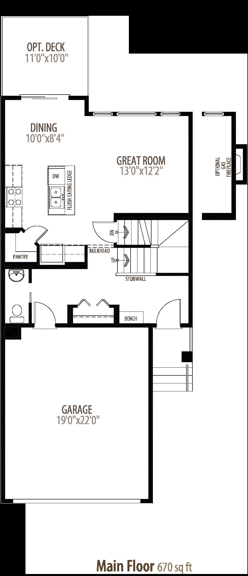 Burton II Floorplan