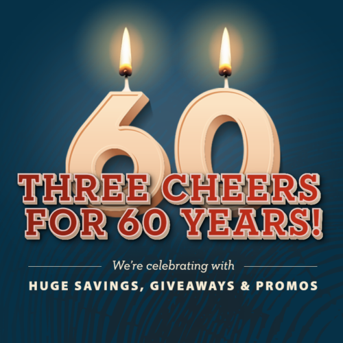 MH 60th Anniversary 60 year tile