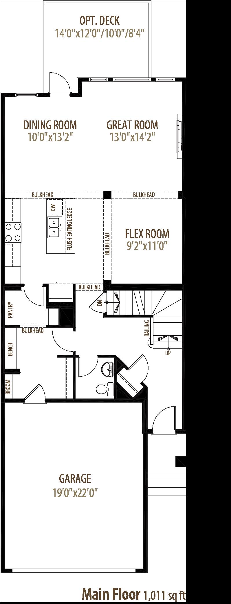 Cliffton Floorplan