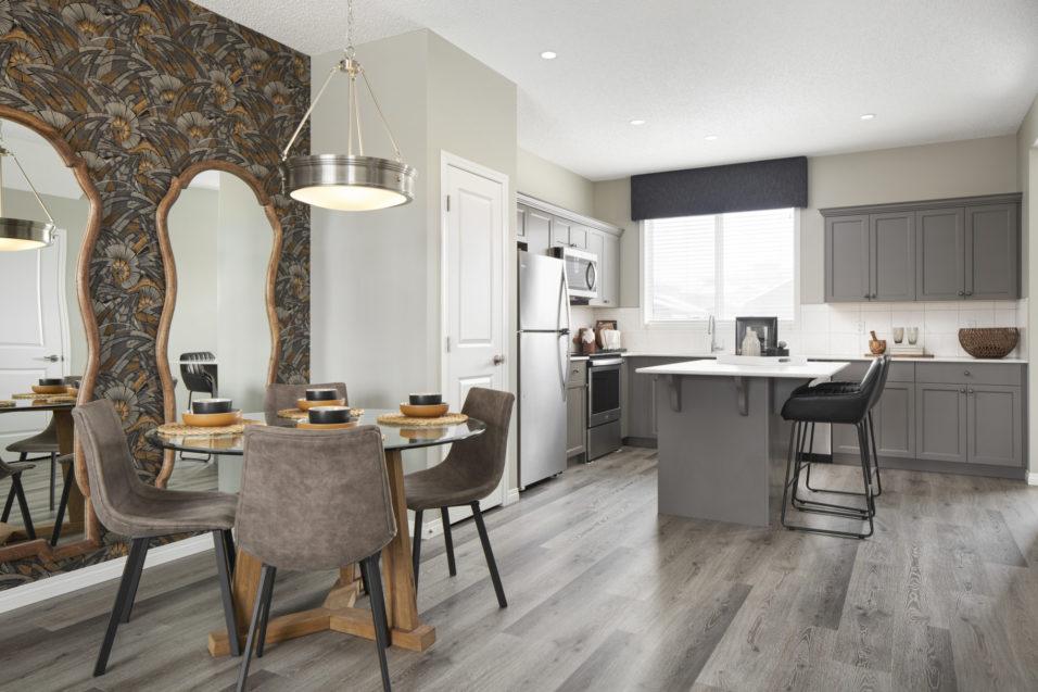 107 dining kitchen