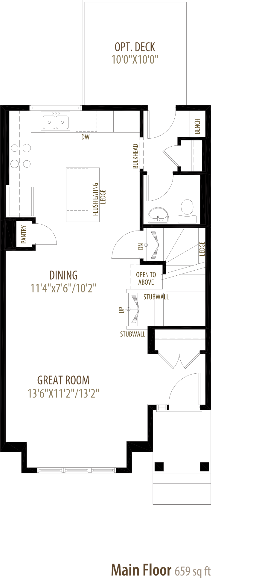 Dexter Floorplan