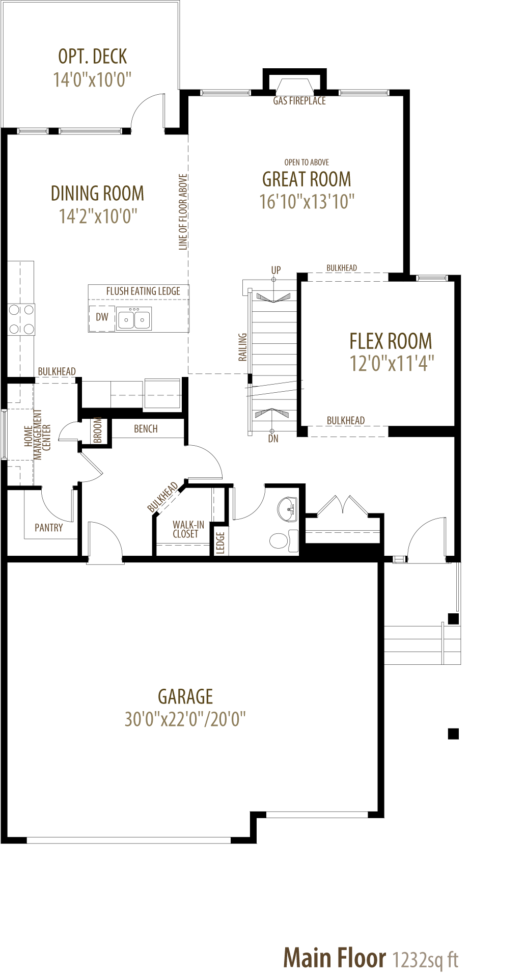 Edward Floorplan