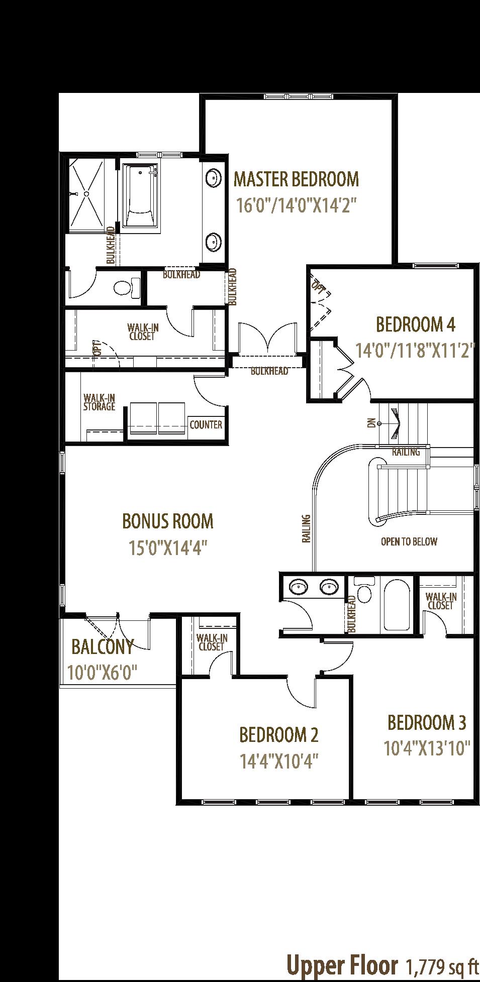 Galveston Floorplan