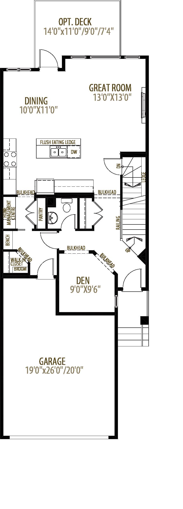 Harrison Floorplan
