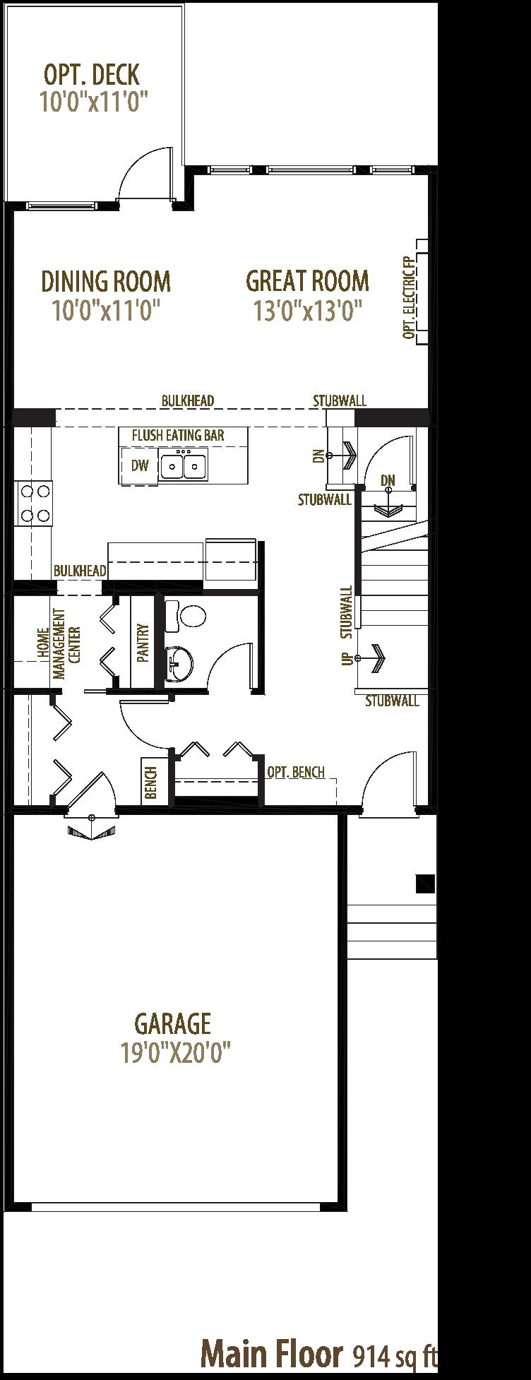Heathrow II Floorplan