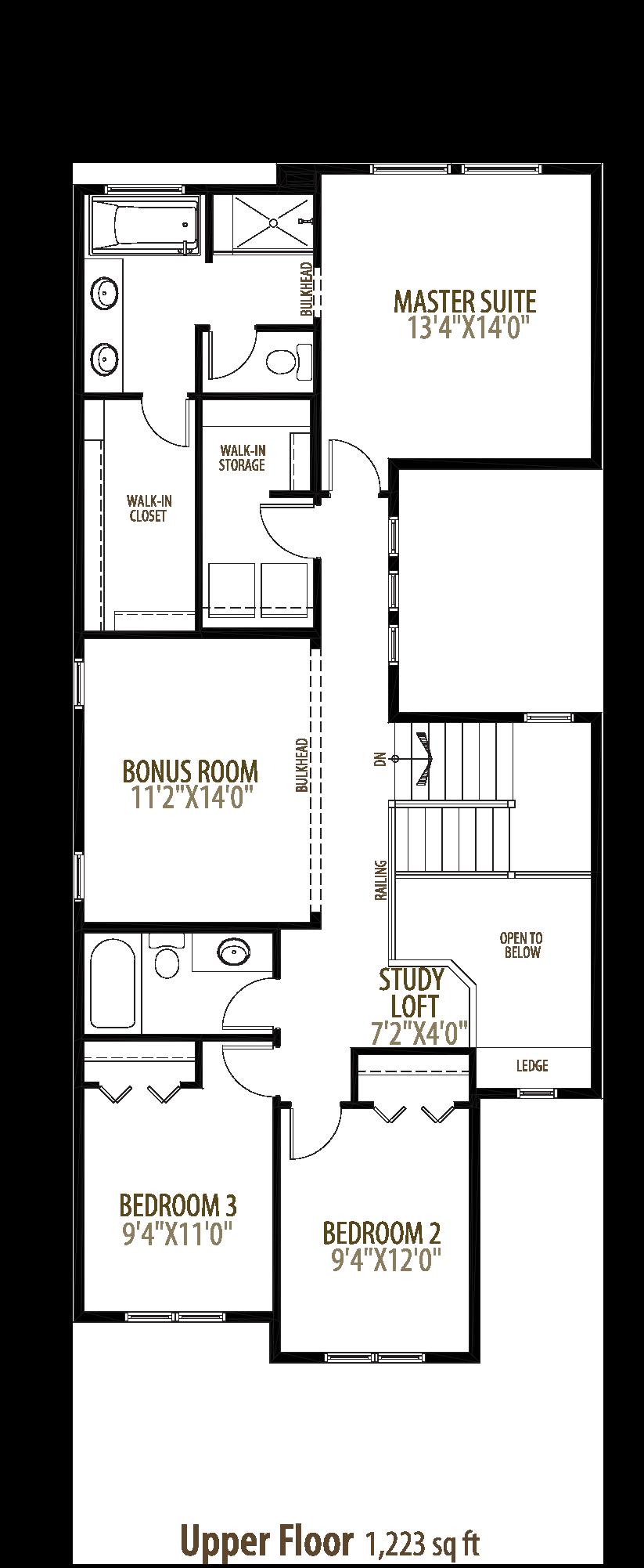 Henderson II Floorplan