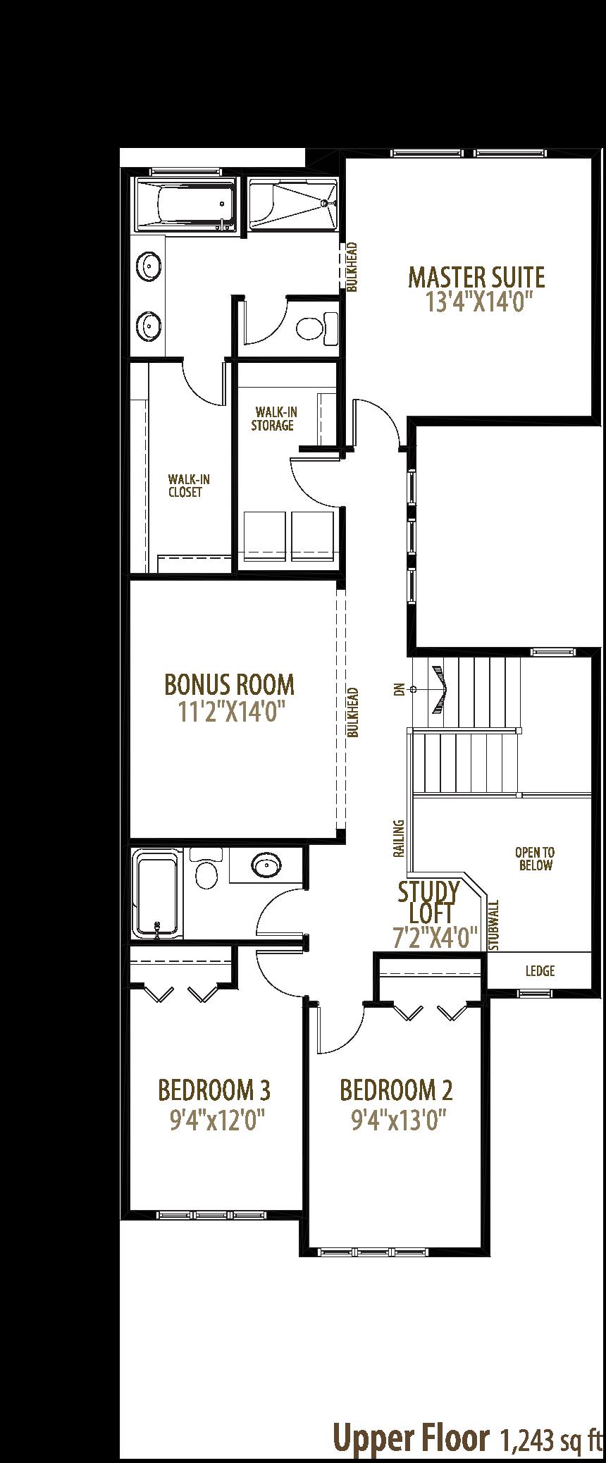 Hendrick II Floorplan