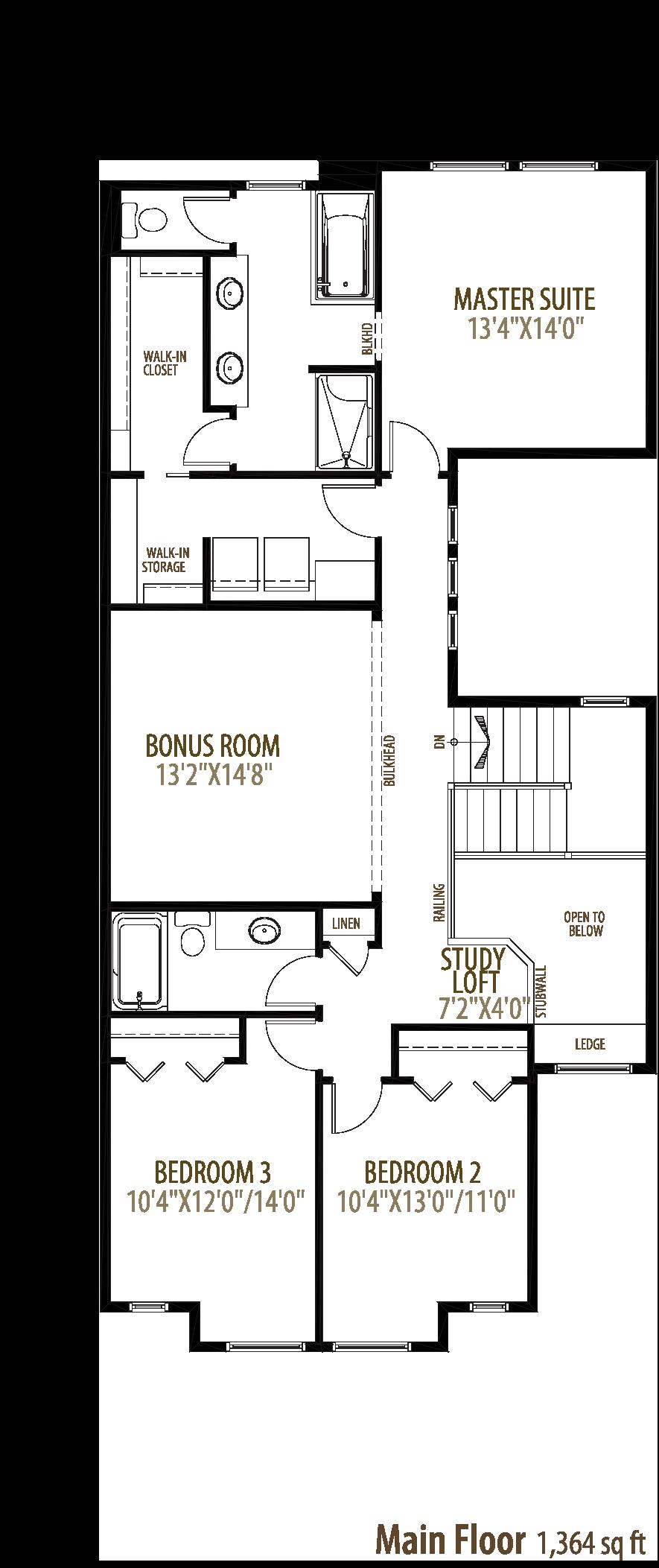 Hendrick Floorplan