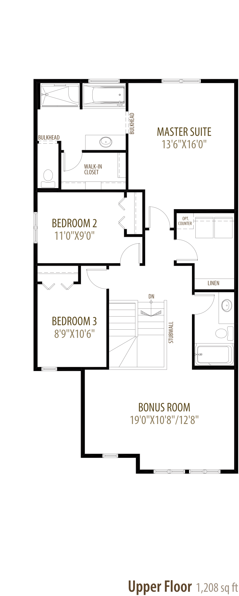 Oakley Floorplan