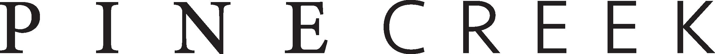 Pinecreek Logo Black