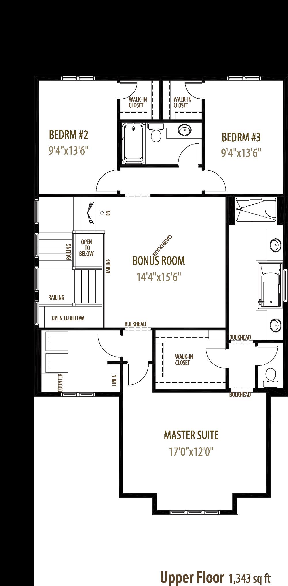 Pinnacle II Floorplan