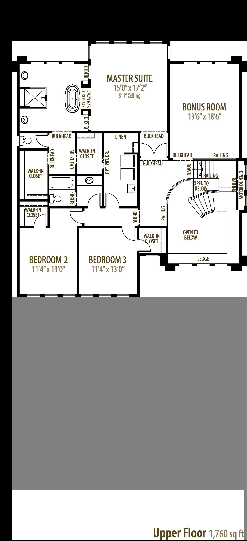 Savannah Floorplan