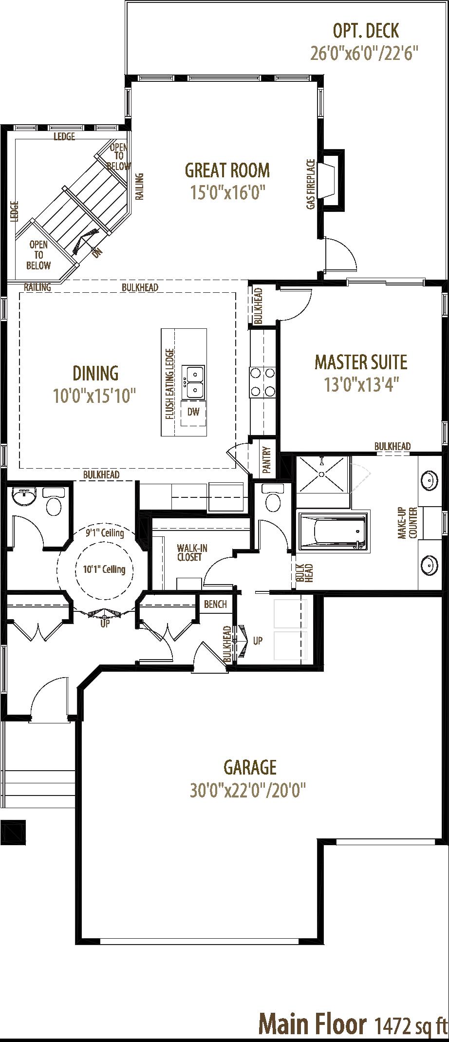 Savoy Floorplan