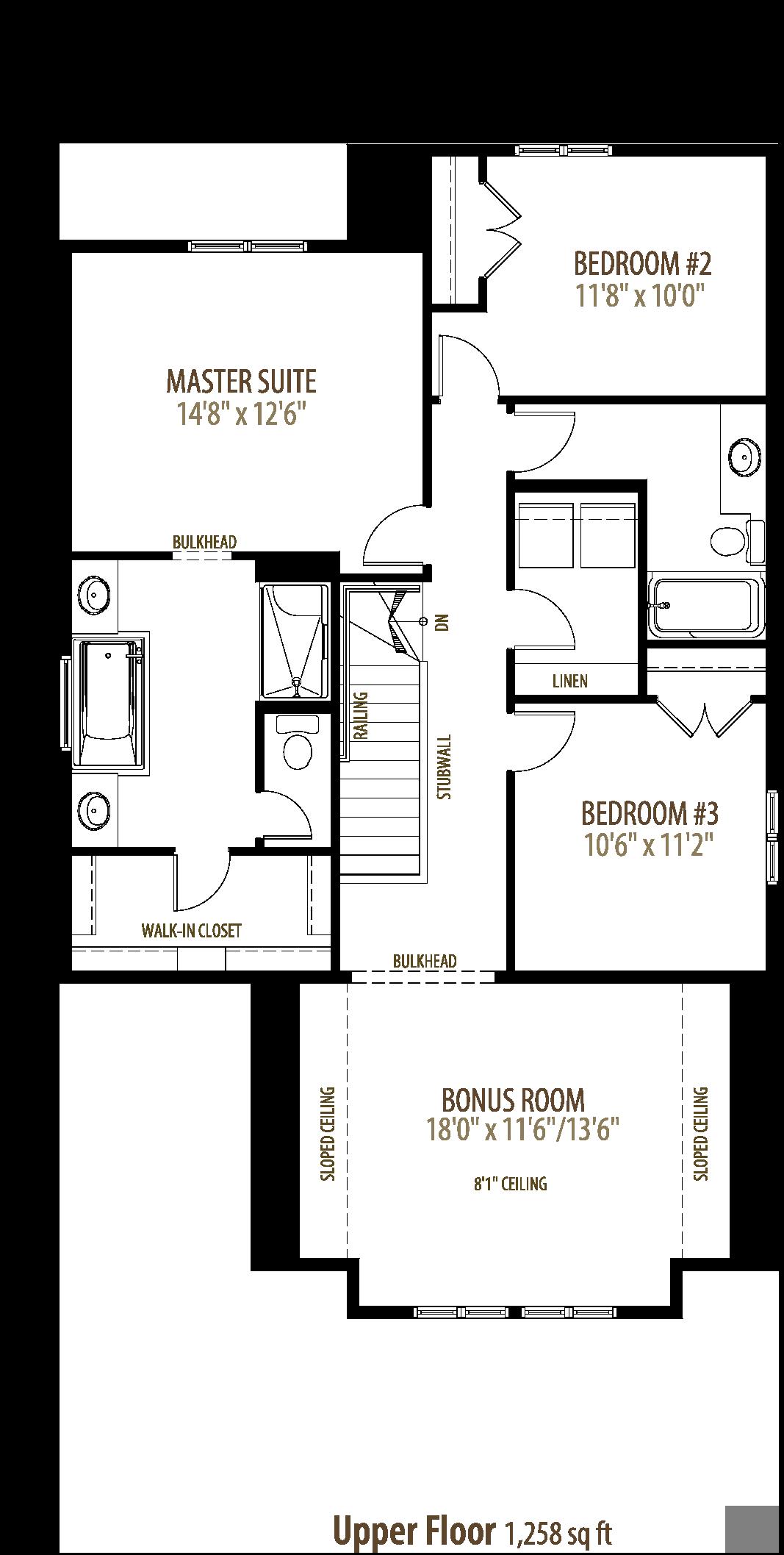 Summit II Floorplan