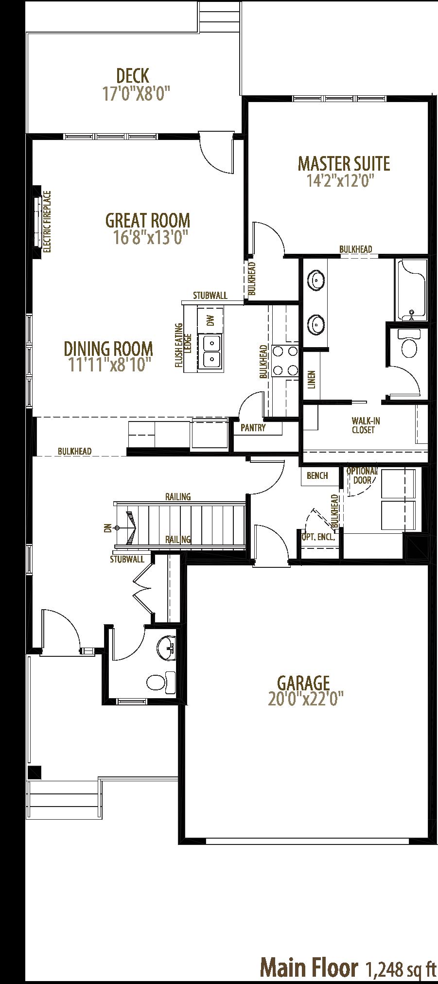 Sutherland Floorplan