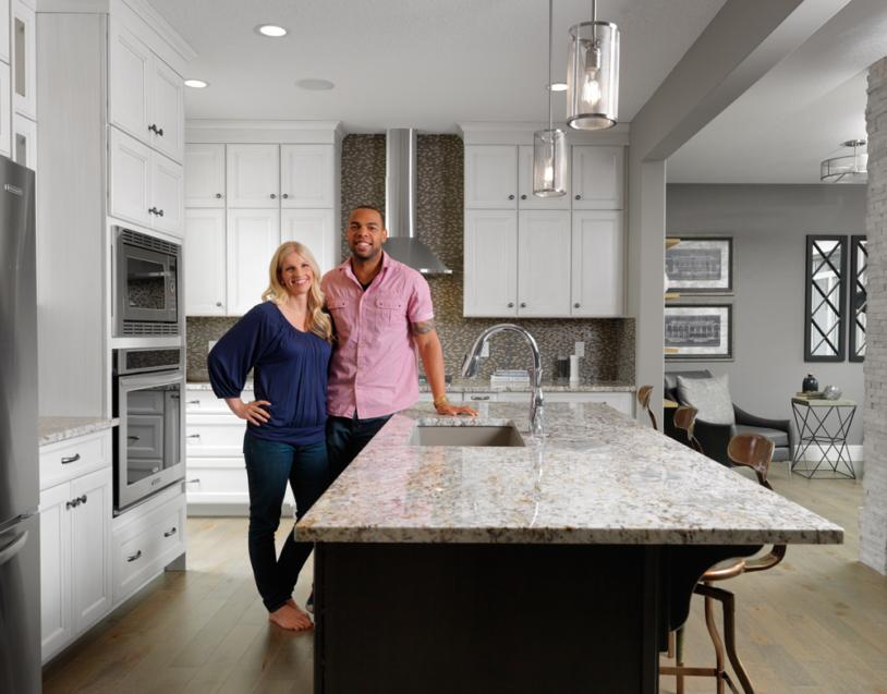 Interior Homeowners Kitchen