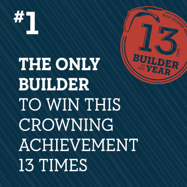 13-Time Builder of the Year