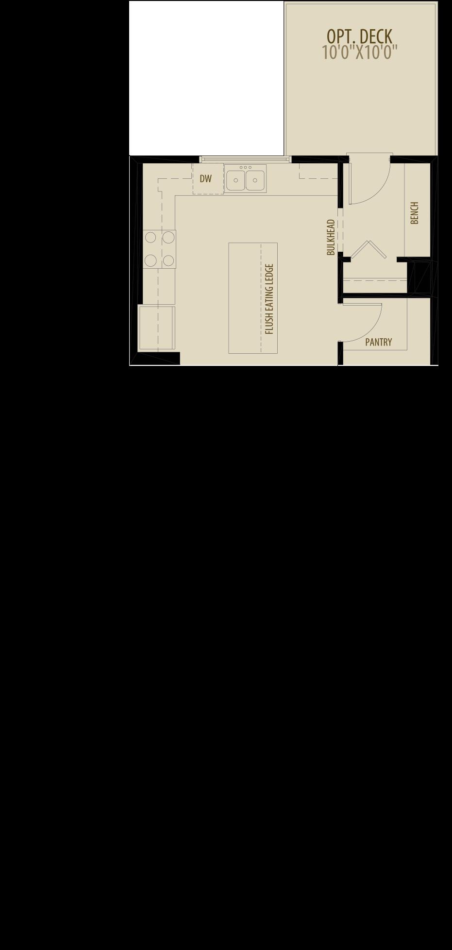 Option 1 Rear Kitchen
