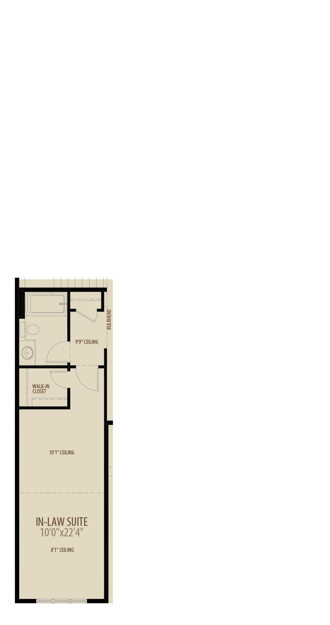Deluxe In Law Suite Adds 208 sq ft