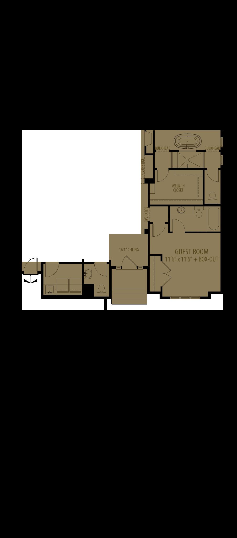 Guest Room W  Ensuite