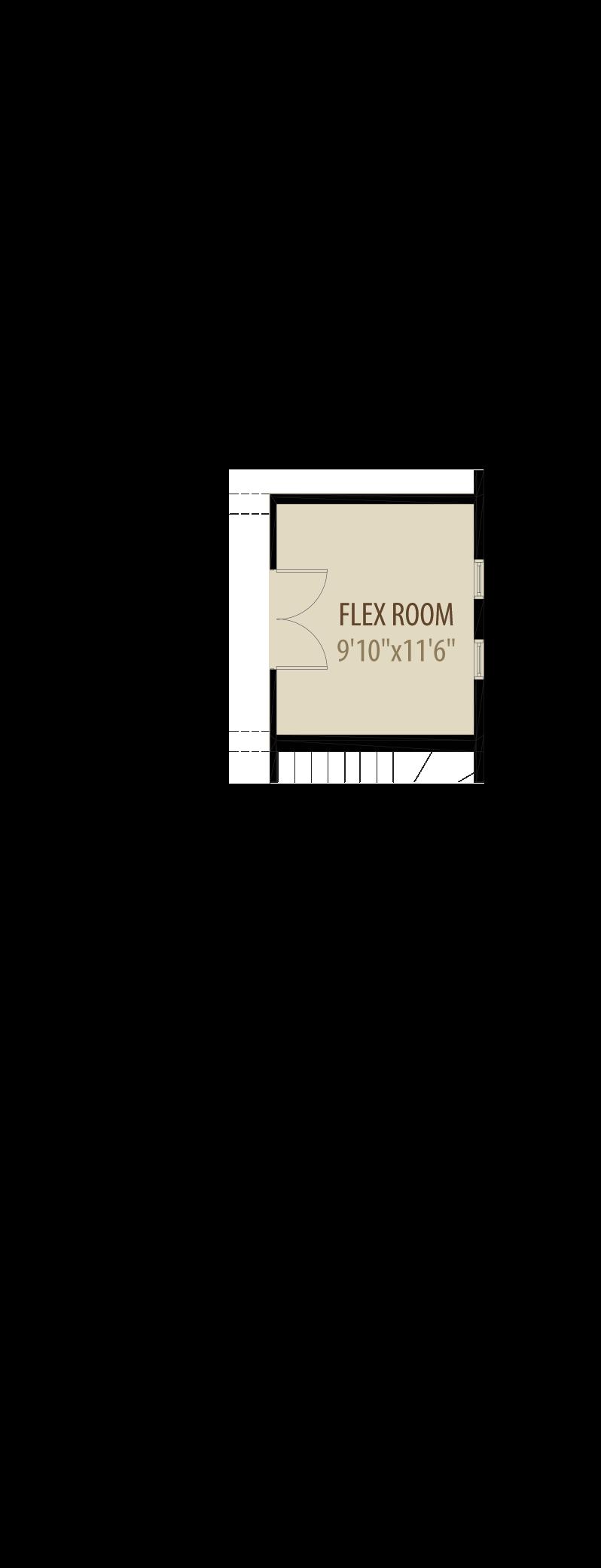 Option 1 Enclosed Flex Room