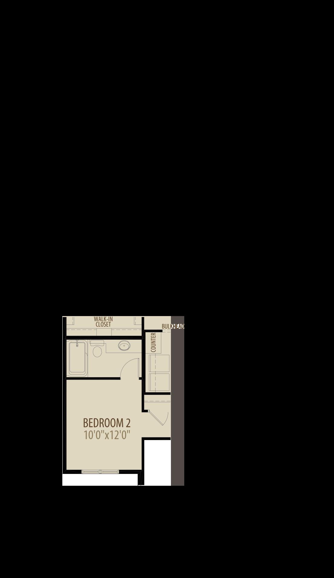 Option 2 Bedroom 2 Ensuite