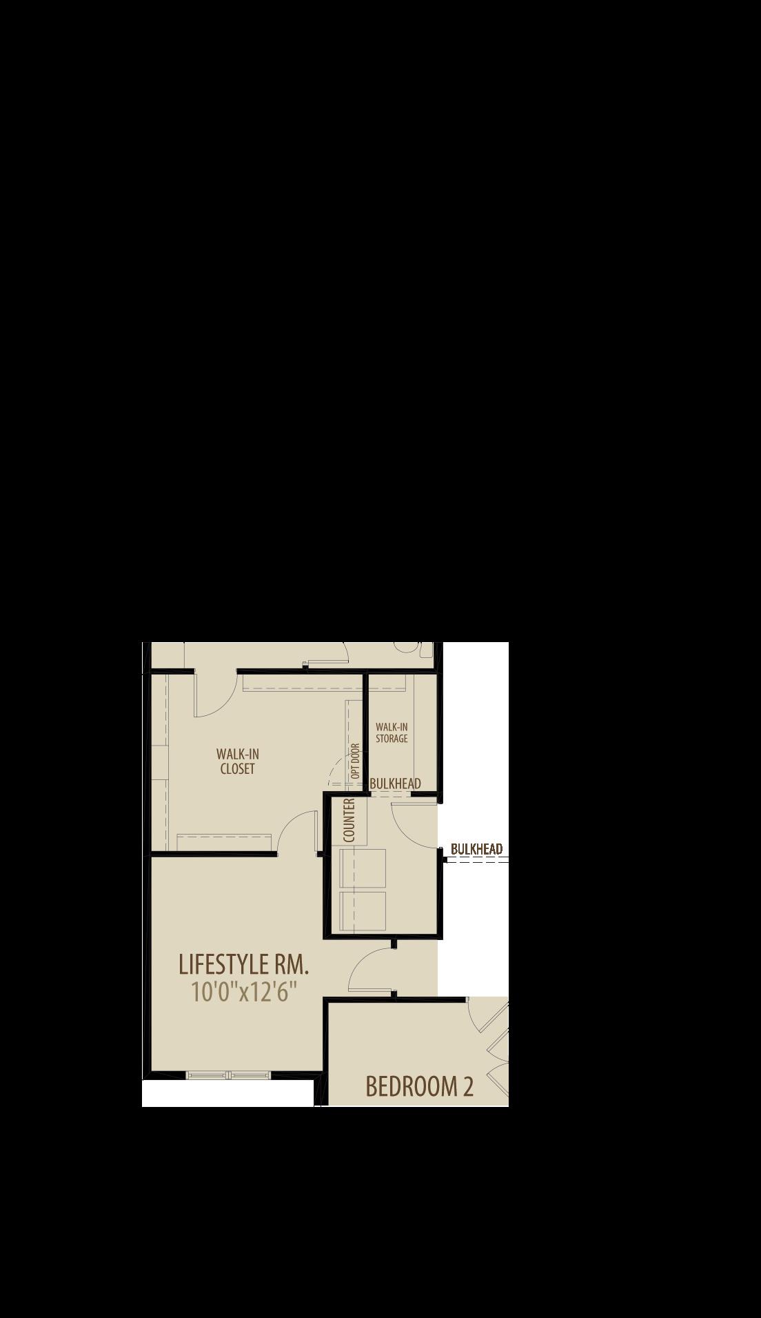 Option 3 Lifestyle Room
