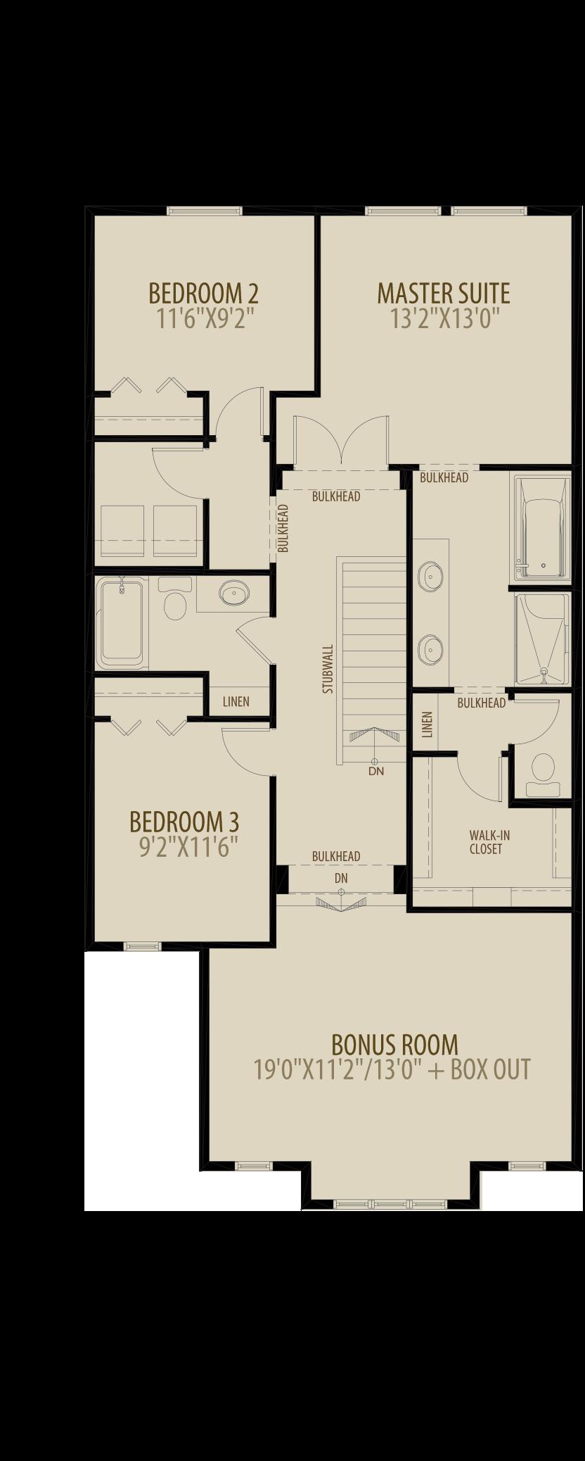 Revised Upper Floor
