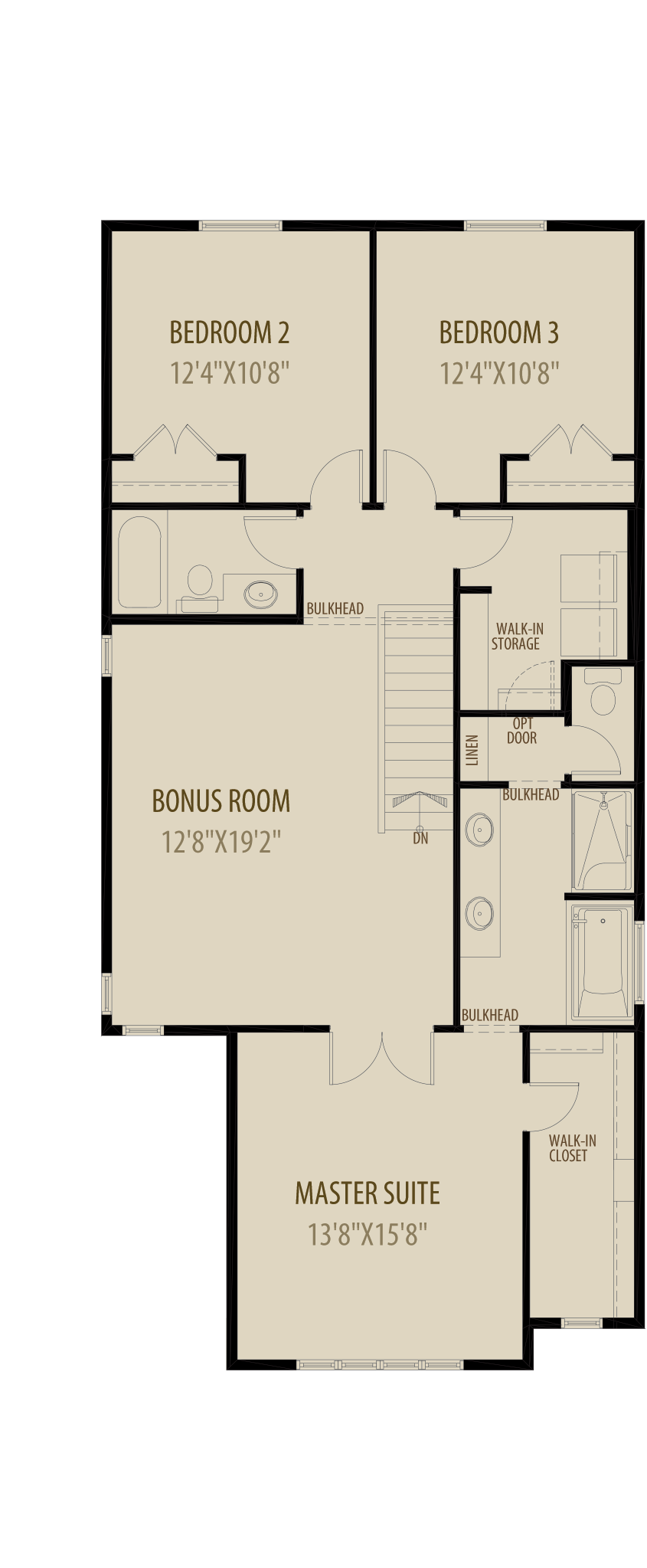 Revised Upper Floor 3 (Adds 60 Sq Ft)