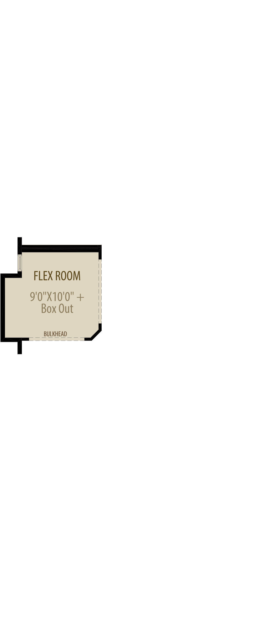Flex Room Cantilever (Adds 16 Sq Ft)