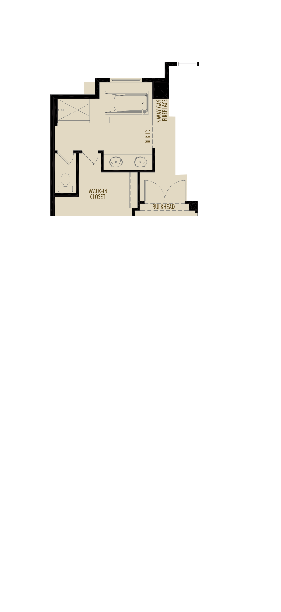 Revised Ensuite Layout Adds 8Sq Ft