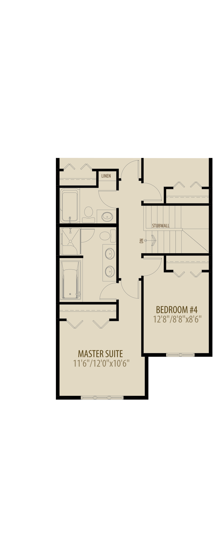 4th Bedroom And Deluxe Ensuite