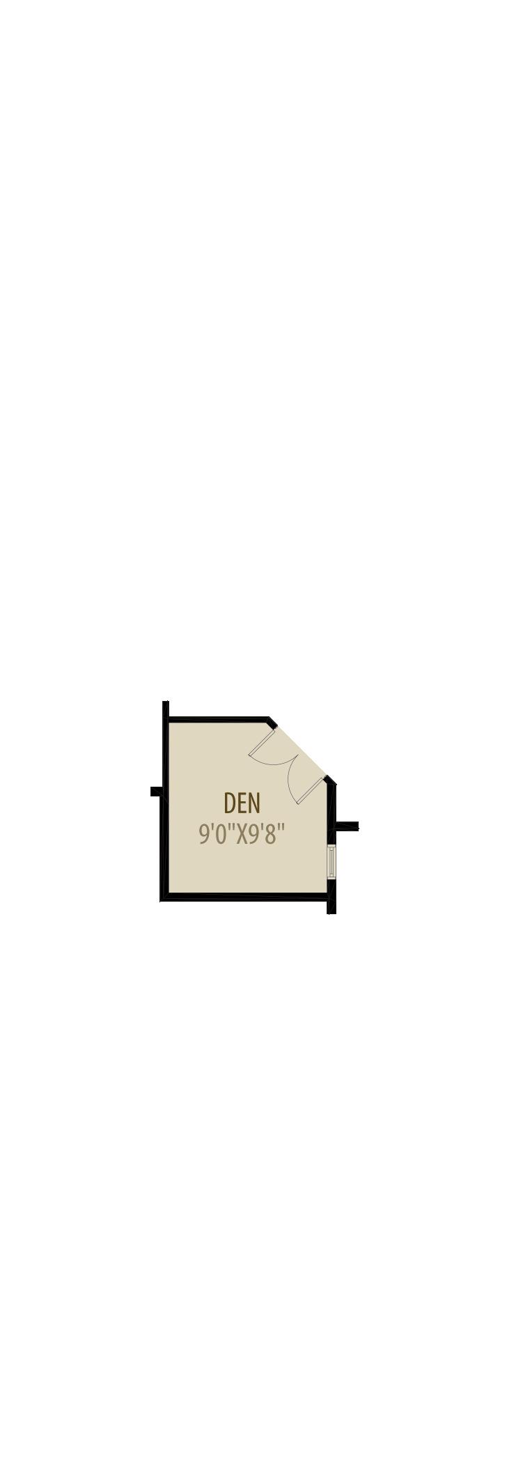 Enclosed Den