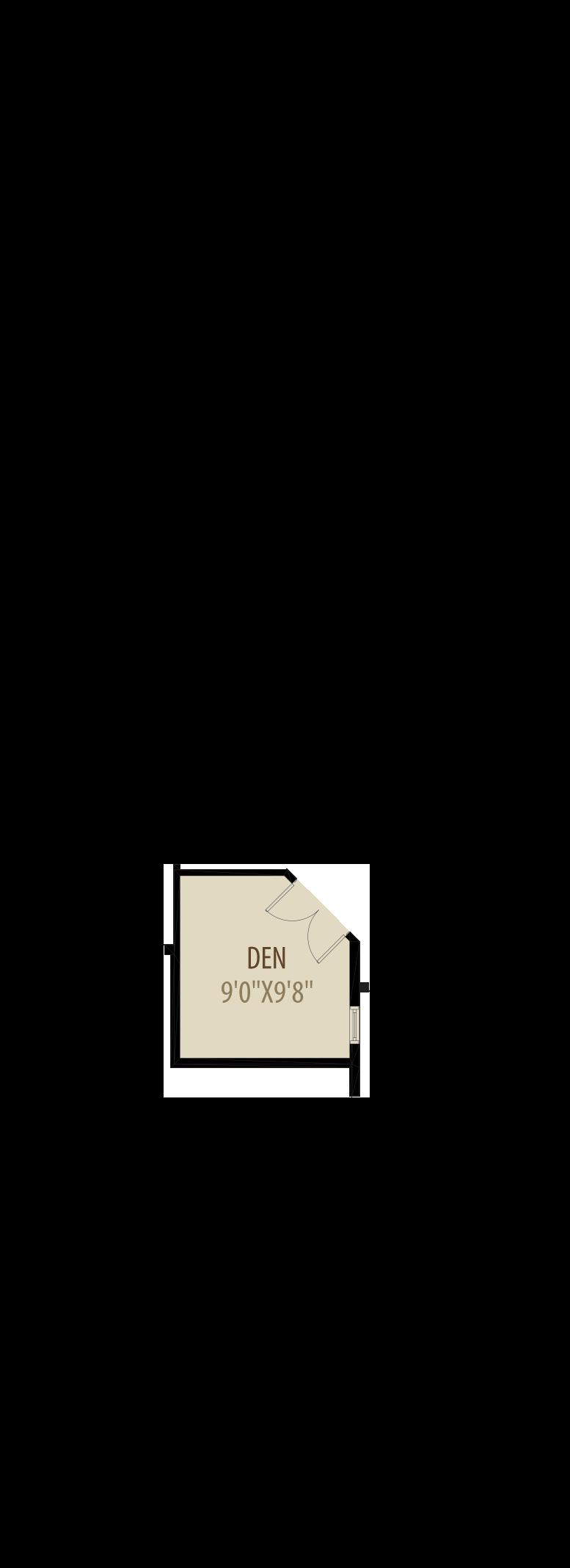 Option 1 Enclosed Den