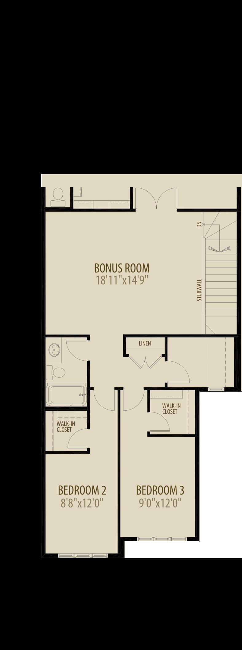Revised Upper Floor adds 209 sq ft