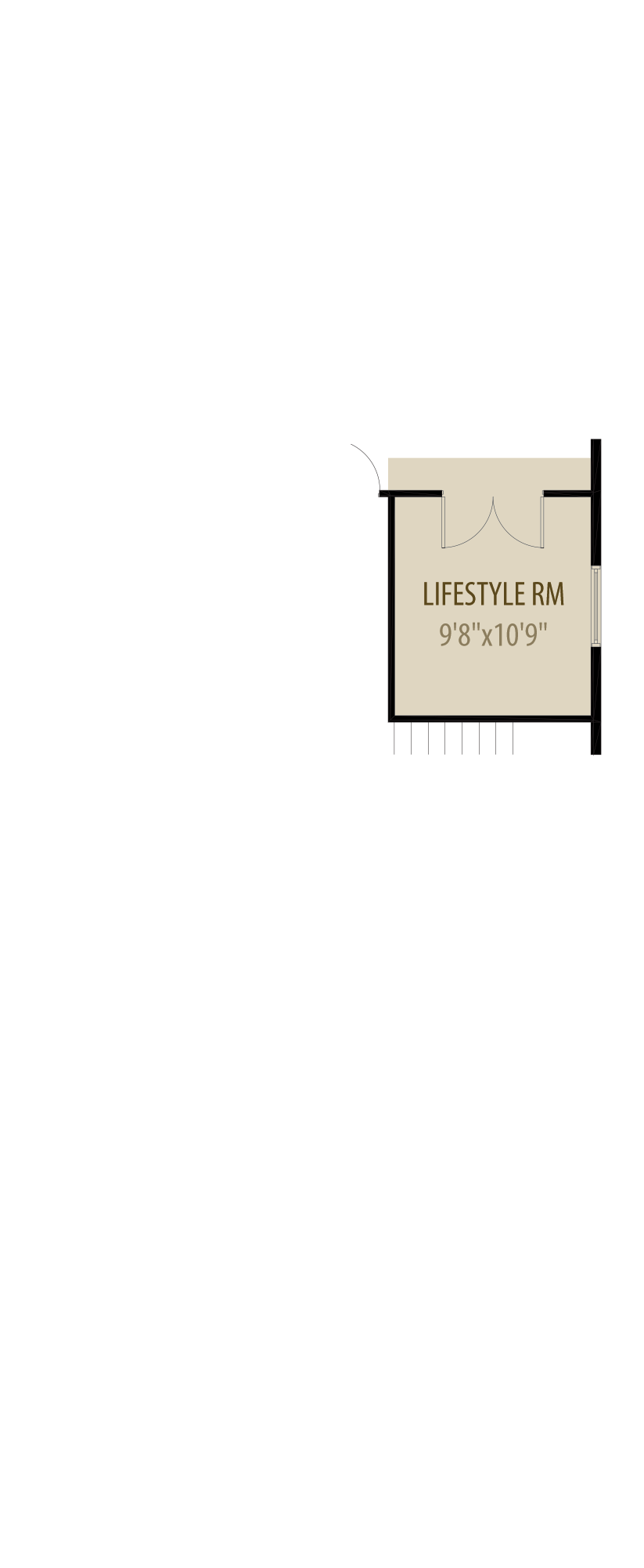 Lifestyle Room adds 120 sq ft