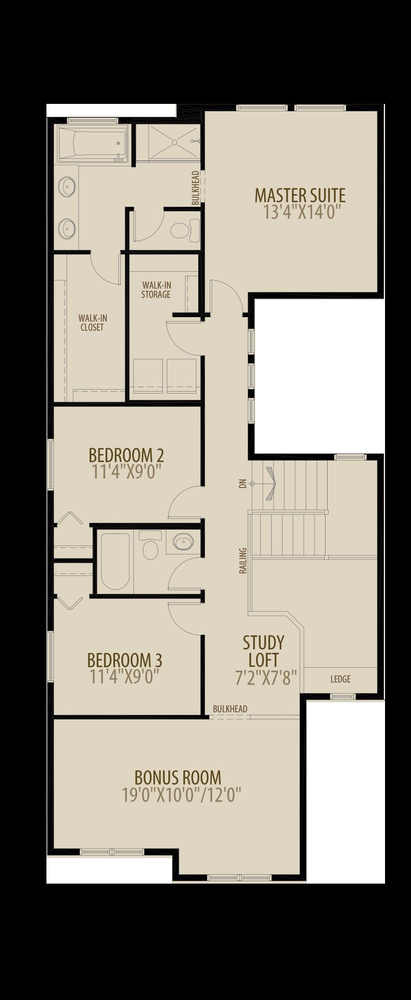 Revised Upper Floor adds 20 sq ft