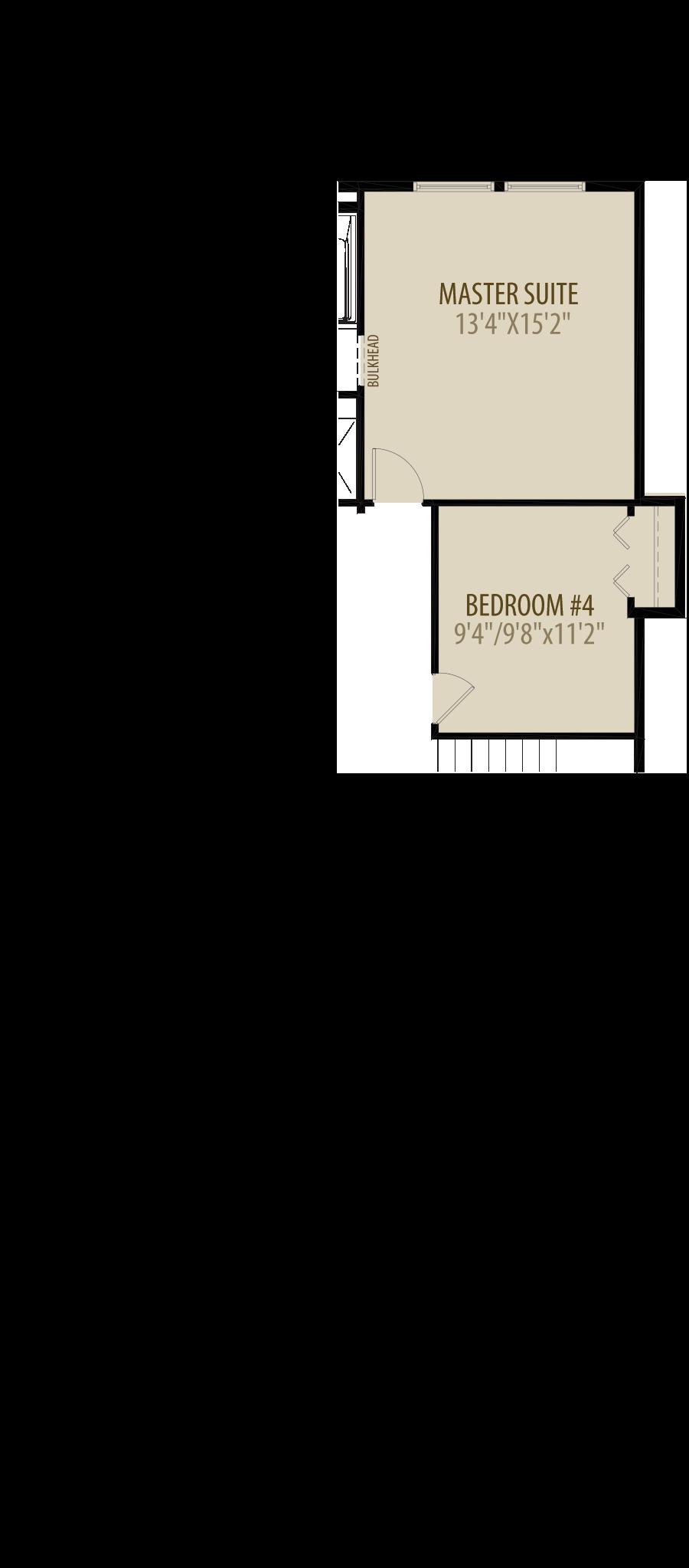 Alt Optional 4th Bedroom adds 132 sq ft