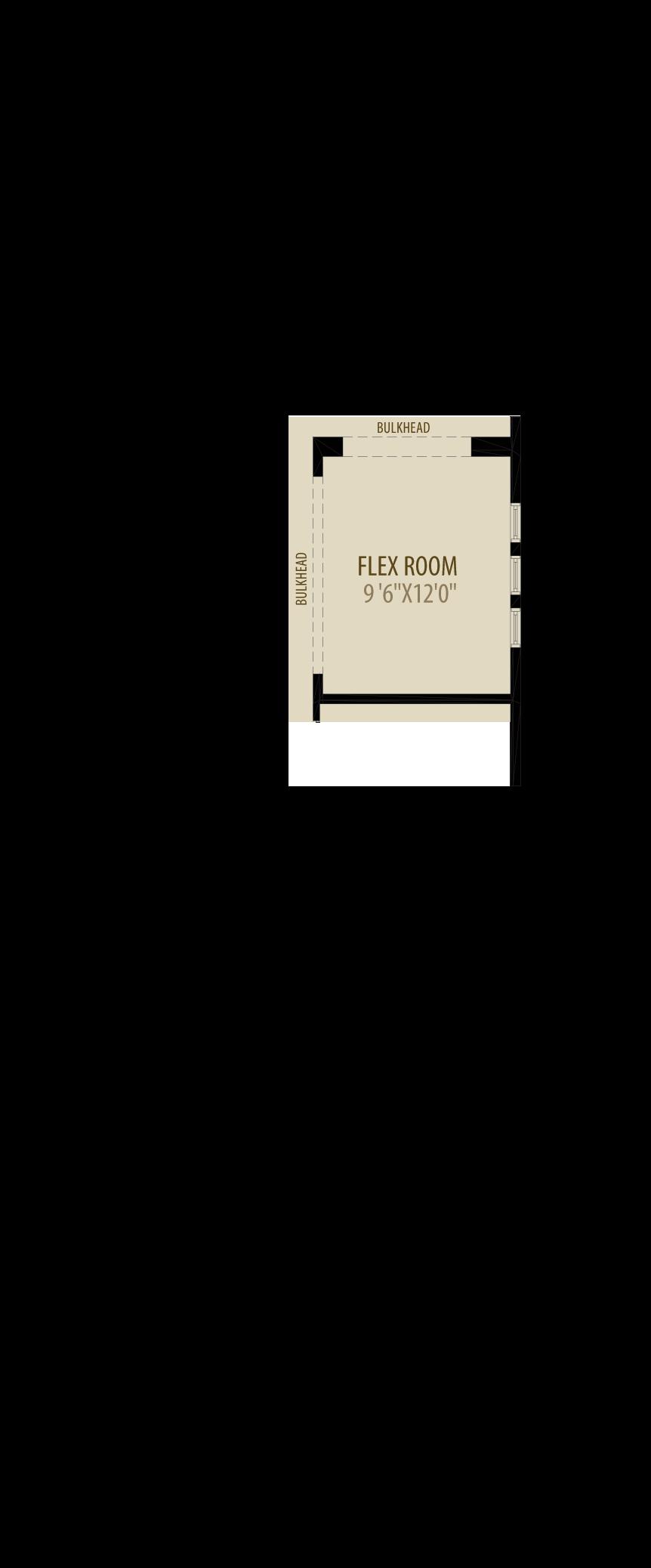 Flex Room Adds 120 sq ft